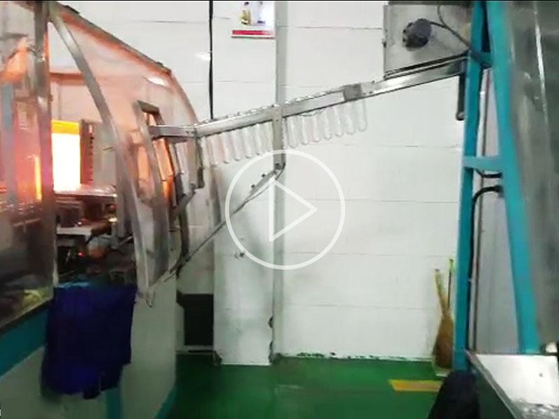 5L (2 cavity) machine in China